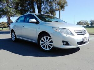 2009 Toyota Corolla ZRE152R Ultima Silver 4 Speed Automatic Sedan Glenelg East Holdfast Bay Preview