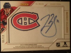 carte de hockey back to back beginning alex et brendan 31/99