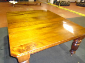 Mahogany dining room table circa 1870