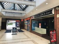No deposit, new lease! Retail space to let in Denmark Centre, South Shields