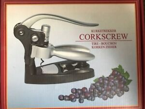 Corkscrew Wine Bottle Opener  Set - New In Box