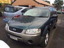 2006 Ford Territory SY Green  Wagon Campbelltown Campbelltown Area Preview