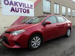 2014 Toyota Corolla LOW KM LE AUTO CAMERA SAFETY INCL BLUETOOTH