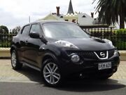 2013 Nissan Juke F15 MY14 ST 2WD Black/Grey 1 Speed Constant Variable Hatchback Medindie Gardens Prospect Area Preview