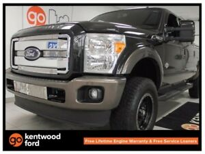 2015 Ford F-250 Lariat King ranch with NAV, heated leather seats