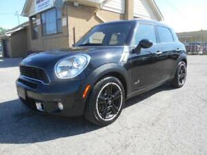 2012 MINI Cooper S Countryman ALL4 6Speed Manual Pano Roof 135Km
