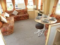 Static caravan for sale situated near a seaside town on the east coast of yorkshire near Bridlington