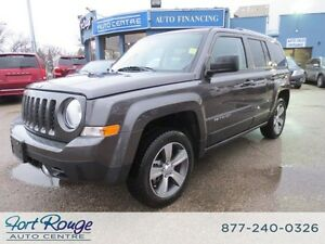 2016 Jeep Patriot HIGH ALTITUDE 4X4 - LTHR/NAV/SUNROOF