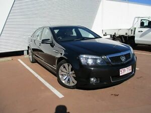 2012 Holden Caprice WM II V Black 6 Speed Sports Automatic Sedan Toowoomba Toowoomba City Preview