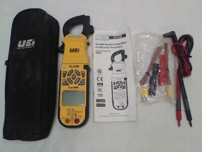Uei Test Instruments Dl429b True Rms Advanced Hvac Clamp Meter
