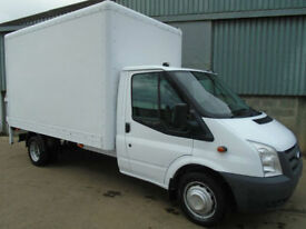 Ford Transit 350 TDCi LWB box van c/w tail lift 2010