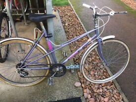 Vintage Viking hybrid bicycle