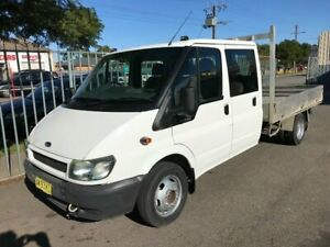 2005 Ford Transit Dual Cab Utility White Automatic Woodville Charles Sturt Area Preview