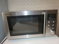 Sharp 800W microwave oven [R-27STM-A]