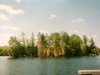 Thanet Lake Island - with bunkie building permit