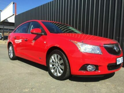 2014 Holden Cruze JH MY14 Z-Series Red 6 Speed Automatic Sedan Phillip Woden Valley Preview