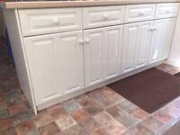 Magnet white kitchen units (used) VGC