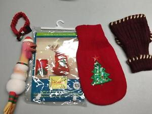 XS Christmas sweater with other items