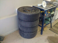Rims 16 inch - with winter tires 205 55 R16