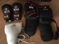 Adult Karate Protective Sparring Gear