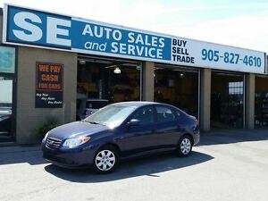 2010 Hyundai Elantra GL Sedan $6350 Certified 116000 Kms