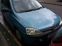 Vauxhall Corsa 1.0 O/S Front Wing In Blue Breaking For Parts (2002)