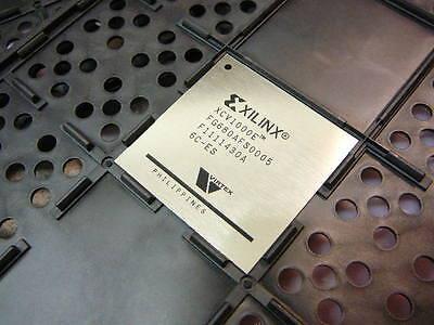Xilinx Virtex Xcv1000e   Xcv1000e 6Fg680c Ic Fpga 512 I O 680Fbga    New