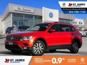 2018 Volkswagen Tiguan Comfortline 2.0TSI 4MOTION, LEATHER, BLUE
