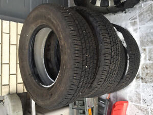 Takeoff Tires- Goodyear Wrangler Fortitude HT-275/65/18