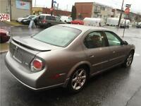 2003 NISSAN MAXIMA-automatic- ** CUIR-TOIT-MAGS- 140km- 2400$