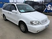2002 Kia Carnival MY02 LS White 4 Speed Automatic Wagon Fyshwick South Canberra Preview