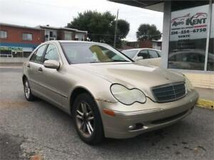 2004 Mercedes-Benz C 230 Kompressor 8 PNEUS BONNE CONDITION