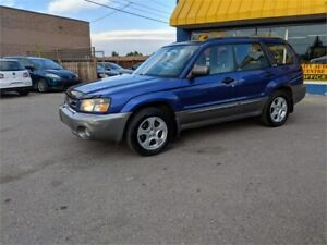 2003 Subaru Forester XS  | $0 DOWN - EVERYONE APPROVED!