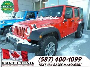 2016 Jeep Wrangler Unlimited Rubicon -Reduced 4 Spring Clearance