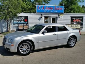 2009 Chrysler 300 Touring ONE OWNER ALL RECORDS LOW KM FINANCE !