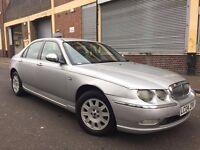 Rover 75 2004 2.0 CDTi Connoisseur 4 door AUTOMATIC, LONG MOT, LEATHER, BARGAIN
