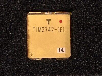One New Toshiba Tim3742-16l Power Gaas Fets C-band