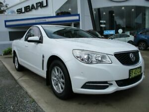 2013 Holden Ute VF MY14 Ute White 6 Speed Sports Automatic Utility Glendale Lake Macquarie Area Preview