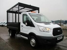 Ford Transit T350 TDCI 125 PS S/CAB CAGED TIPPER DIESEL MANUAL WHITE (2015)