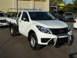 2018 Mazda BT-50 MY18 XT (4x4) White 6 Speed Automatic Cab Chassis Brendale Pine Rivers Area Preview