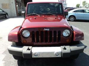 2010 Jeep Wrangler Unlimited Sahara Trail Rated 4X4