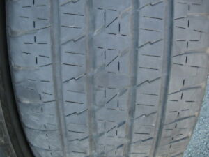 SET OF 4 285/45R22 TIRES.$160 FOR THE SET