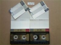 JL £6 & FP&P 2x TDK SF 90 SUPER FIDELITY CHROME CASSETTE TAPES 1988-1989 JOB LOT OR SOLO'S