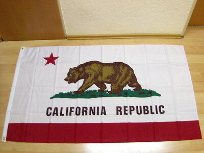 Fahnen Flagge California Kalifornien - 90 x 150 cm