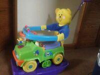 Musical kids rocker push along Ride On toy