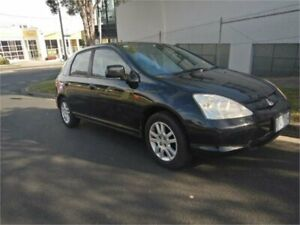 2002 Honda Civic 7th Gen VI Black 4 Speed Automatic Hatchback Burwood Whitehorse Area Preview