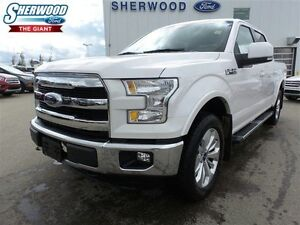 2015 Ford F-150 Lariat, Navigation, Rear view camera, Heated Sea