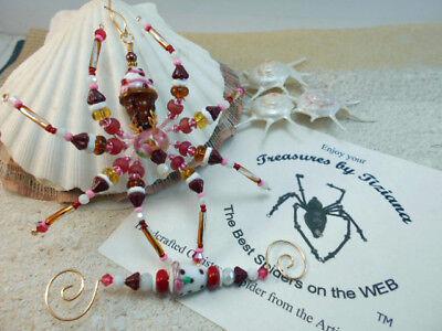 TreasuresbyTiziana® Sweet Ice Cream Sugar Cone Cupcake Christmas Spider Ornament