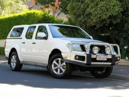 2013 Nissan Navara D40 S6 MY12 ST White 5 Speed Sports Automatic Utility Prospect Prospect Area Preview
