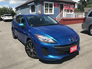 2012 Mazda Mazda3 GX | CAR LOANS AVAILABLE FOR ANY CREDIT